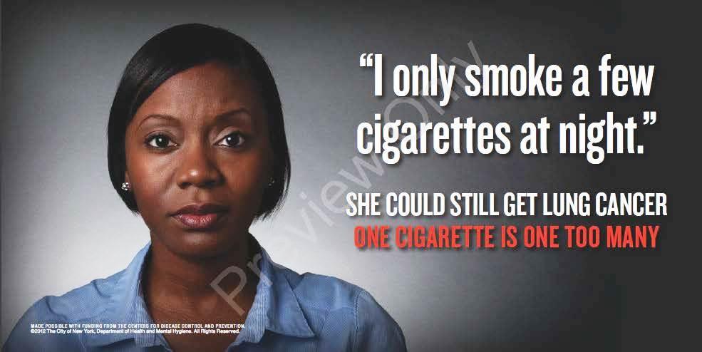Media Campaign Resource Center (MCRC) Ad: One Cigarette - Lung